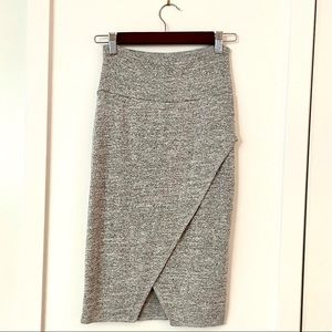 Wilfred Free Tyra Skirt in Heather Grey Size SMALL